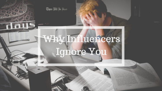 Why influencers are ignoring you